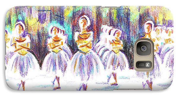 Dancers In The Forest II Galaxy Case by Kip DeVore
