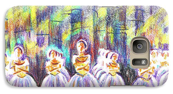 Dancers In The Forest Galaxy S7 Case