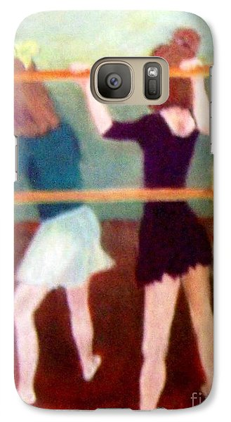 Galaxy Case featuring the painting Dancing Class by Mary Lynne Powers