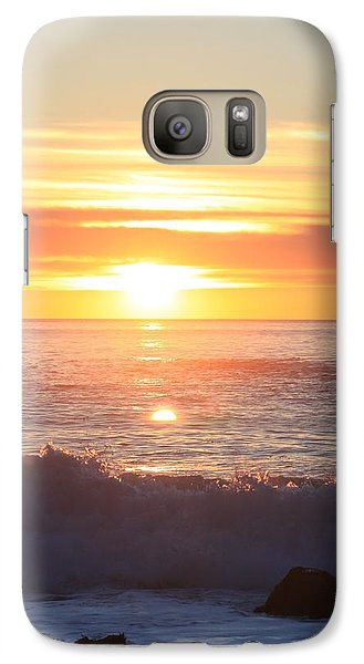 Galaxy Case featuring the photograph Dancing Flames  by Amy Gallagher