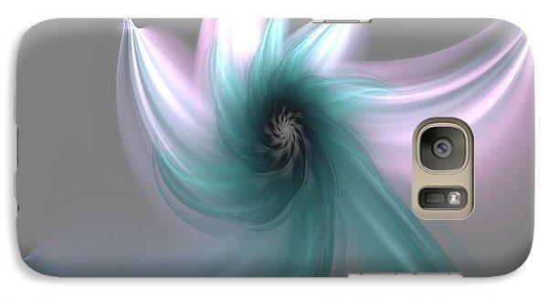 Galaxy Case featuring the digital art Dancing Flower by Svetlana Nikolova