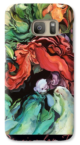 Galaxy Case featuring the painting Dancing For Joy 2 by Brooks Garten Hauschild