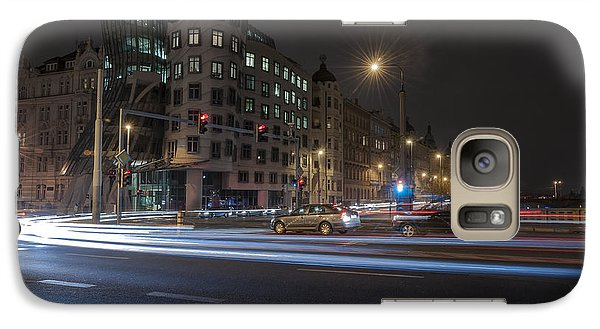 Galaxy Case featuring the photograph Dancing House by Sergey Simanovsky