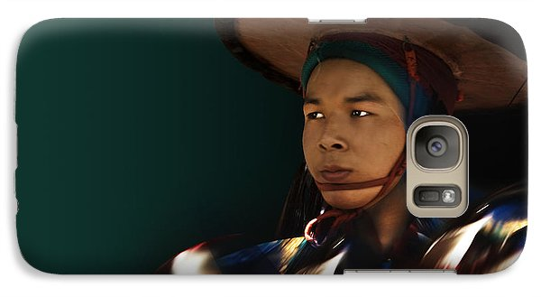 Galaxy Case featuring the digital art Dancing In The Dark by Angelika Drake