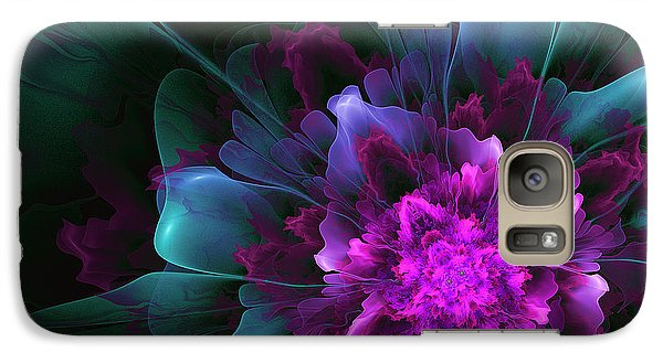 Galaxy Case featuring the digital art Dancing In The Moonlight by Linda Whiteside