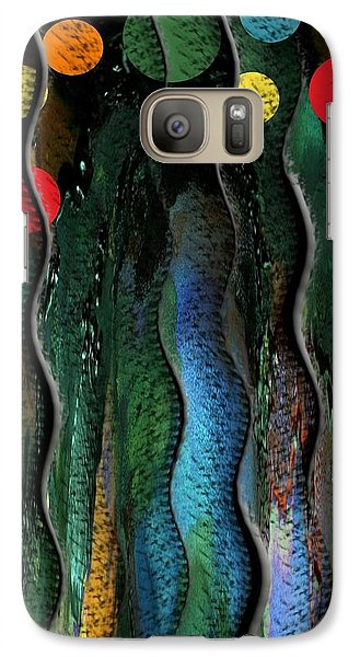 Galaxy Case featuring the photograph Dancing In The Streets. by Steve Godleski