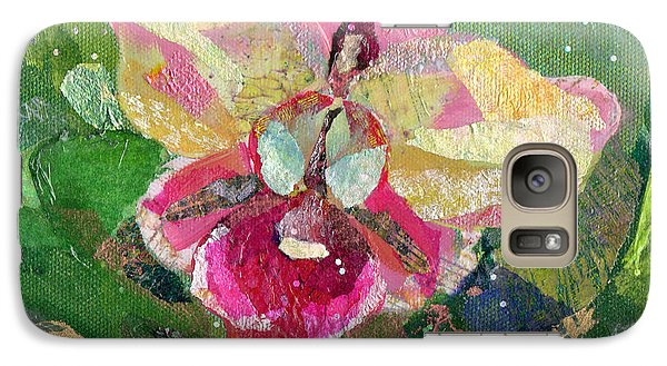 Dancing Orchid I Galaxy Case by Shadia Derbyshire