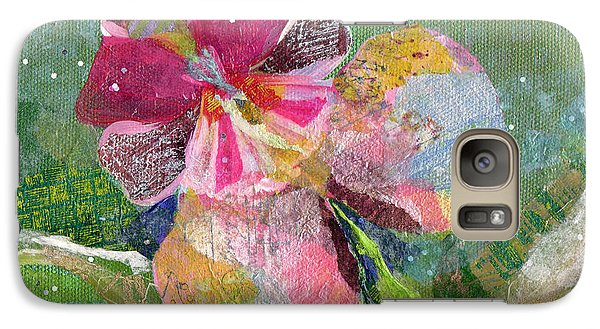 Dancing Orchid IIi Galaxy Case by Shadia Derbyshire