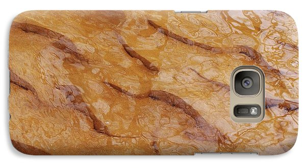 Galaxy Case featuring the photograph Dancing Reflections Over Ripples by Kathi Mirto