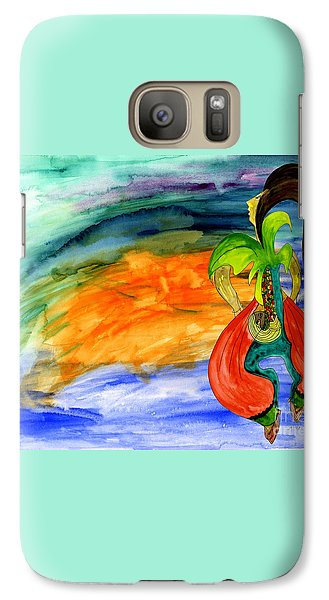 Galaxy Case featuring the painting Dancing Tree Of Life by Mukta Gupta