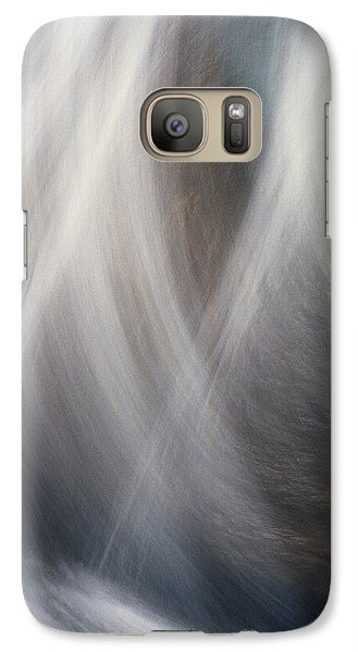 Galaxy Case featuring the photograph Dancing Water by Kathy Bassett