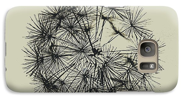 Galaxy Case featuring the photograph Dandelion 6 by Kathy Barney