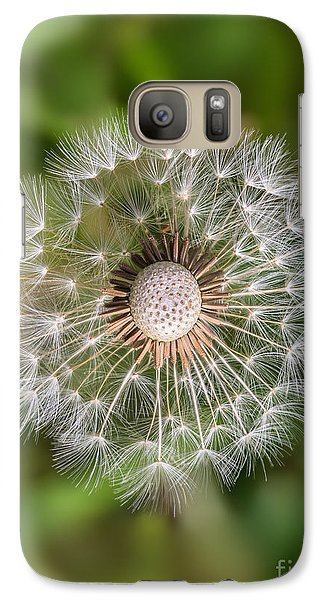 Galaxy Case featuring the photograph Dandelion by Carsten Reisinger