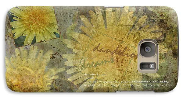 Galaxy Case featuring the photograph Dandelion Dreams by Terri Harper