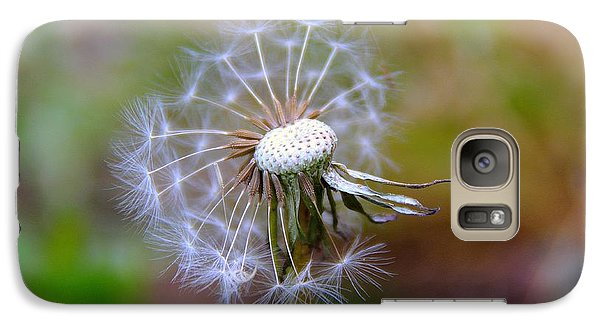 Galaxy Case featuring the photograph Dandelion by Lisa L Silva