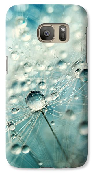 Galaxy Case featuring the photograph Dandelion Starburst by Sharon Johnstone