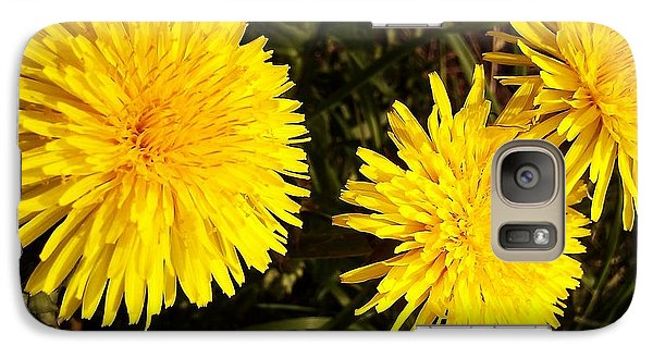 Galaxy Case featuring the photograph Dandelion Weeds? by Martin Howard