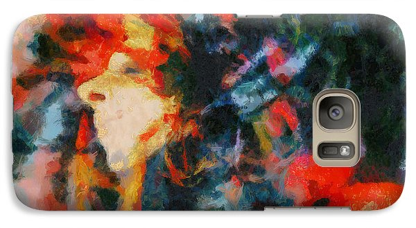 Galaxy Case featuring the painting Dangerous Passion by Joe Misrasi