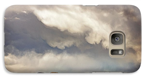 Galaxy Case featuring the photograph Dangerous Sky In Santa Fe by Dave Garner