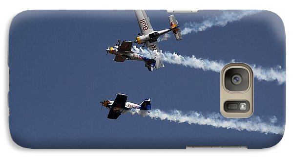 Galaxy Case featuring the photograph Dangerously Close Encounter by Ramabhadran Thirupattur
