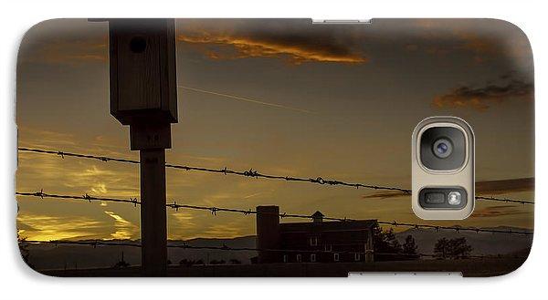 Galaxy Case featuring the photograph Daniel's Dusk by Kristal Kraft