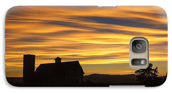 Galaxy Case featuring the photograph Daniel's Sunset by Kristal Kraft