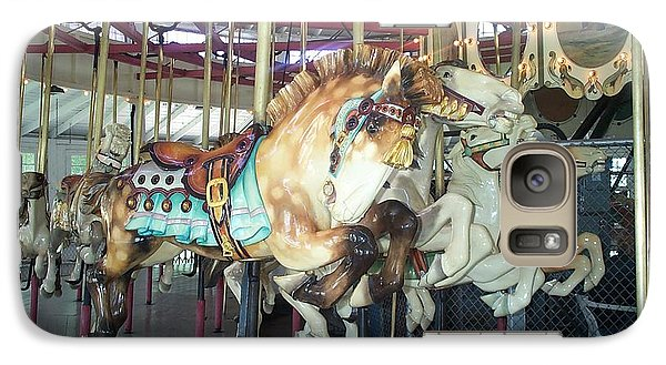 Galaxy Case featuring the photograph Dapled Pony by Barbara McDevitt