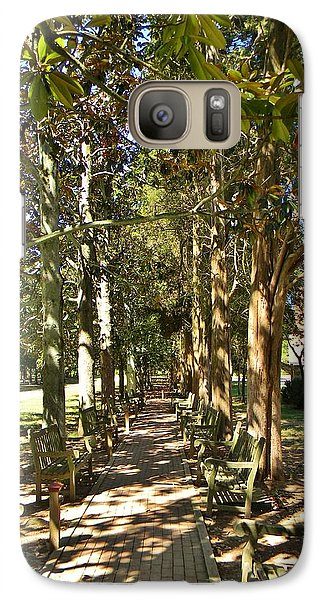 Galaxy Case featuring the photograph Dappled by Jean Goodwin Brooks