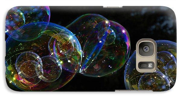 Dark Bubbles With Babies Galaxy S7 Case by Nareeta Martin