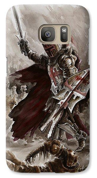 Dungeon Galaxy S7 Case - Dark Crusader by Mariusz Szmerdt