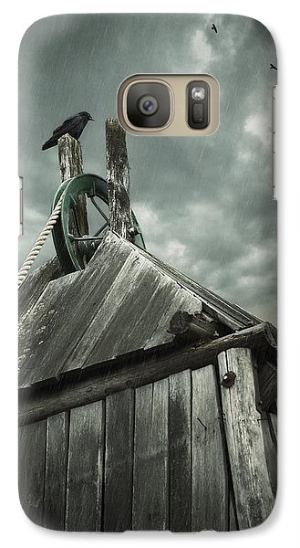 Dark Days Galaxy Case by Amy Weiss