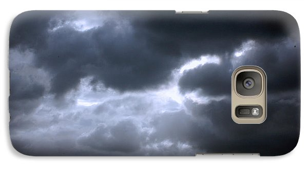 Galaxy Case featuring the photograph Dark Light by Allen Carroll