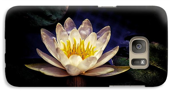 Galaxy Case featuring the photograph Dark Lily by Beth Akerman