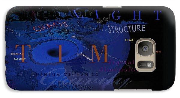 Galaxy Case featuring the digital art Dark Matter by David Klaboe