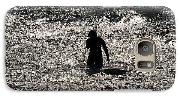 Galaxy Case featuring the photograph Dark Surf by Tara Lynn