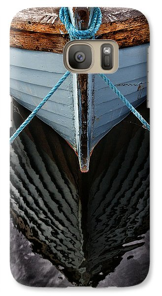 Boat Galaxy S7 Case - Dark Waters by Stelios Kleanthous