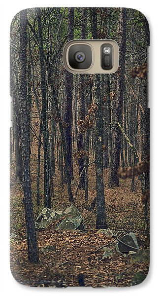 Galaxy Case featuring the photograph Dark Woods by Yvonne Emerson AKA RavenSoul