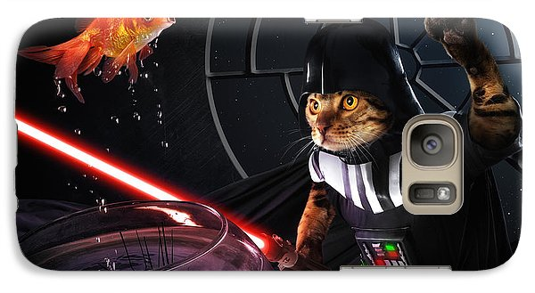 Goldfish Galaxy S7 Case - Darth Sushi by Christophe Kiciak