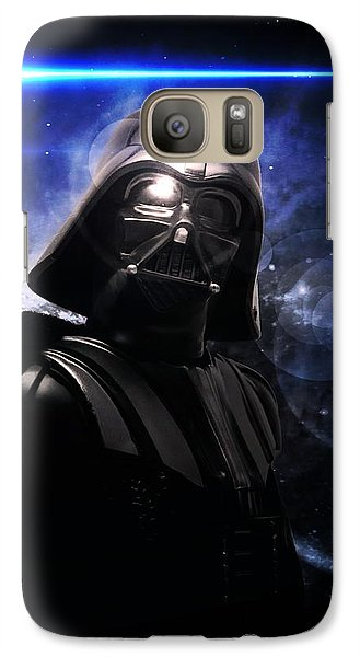 Galaxy Case featuring the digital art Darth Vader by Aaron Berg