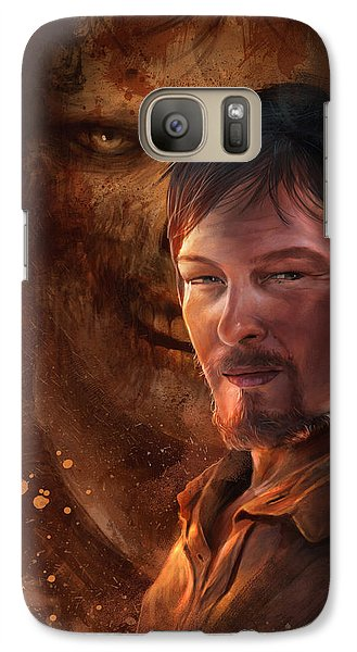 Galaxy Case featuring the digital art Daryl by Steve Goad