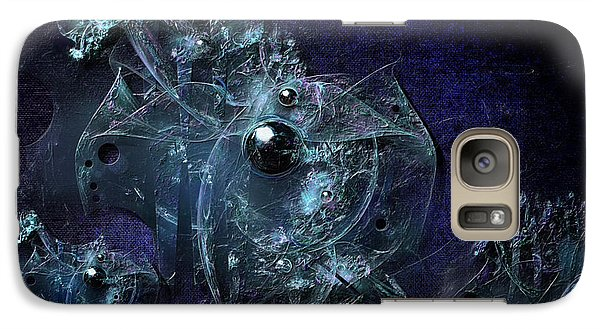 Galaxy Case featuring the painting Dashboard by Alexa Szlavics