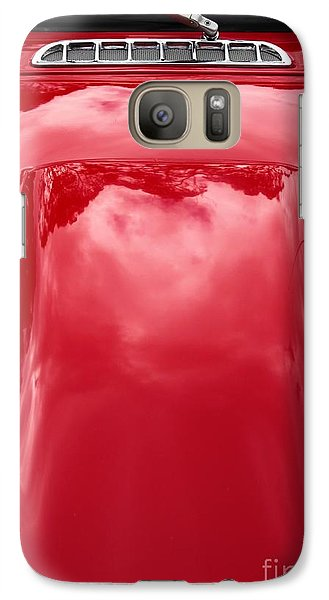 Galaxy Case featuring the photograph Dashing Red by Stephen Mitchell