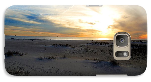 Galaxy Case featuring the photograph Dauphin Sunset by Linda Mesibov