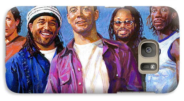 Galaxy Case featuring the drawing Dave Matthews Band by Viola El