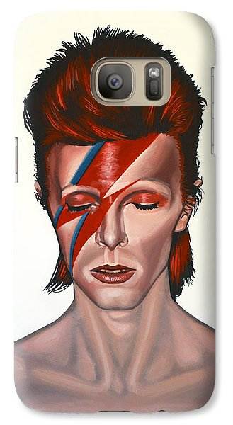 David Bowie Aladdin Sane Galaxy S7 Case