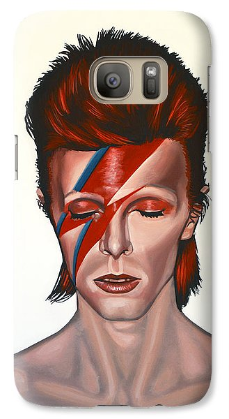 Galaxy S7 Case - David Bowie Aladdin Sane by Paul Meijering