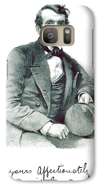 Galaxy Case featuring the photograph David Livingstone, Scottish Explorer by British Library