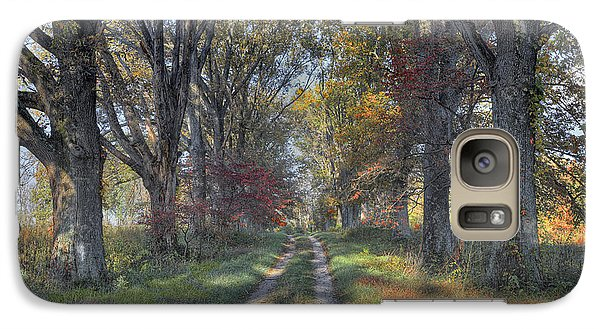 Galaxy Case featuring the photograph Daviess County Lane by Wendell Thompson