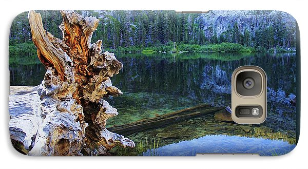 Galaxy Case featuring the photograph Dawn Arrives At Eagle Lake by Sean Sarsfield