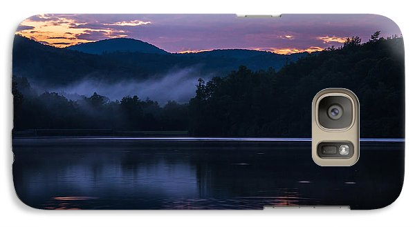 Galaxy Case featuring the photograph Dawn At Julian Price Lake by Serge Skiba